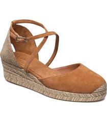 caude_21_ks sandalette med klack espadrilles beige unisa