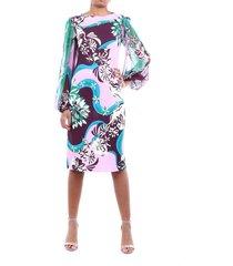 0ejh450e747 multicolor dress