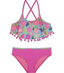 bikini vuelos uv30 fucsia h2o wear