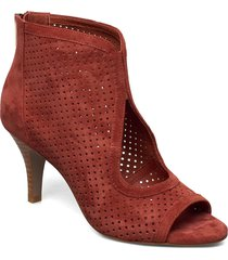 shoe shoes boots ankle boots ankle boot - heel röd sofie schnoor