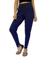 pantalon babucha azul francia natalia seguel