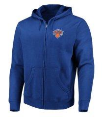 majestic new york knicks men's toby full zip hoodie