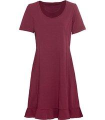 comfortabele jurk van bio-jersey, granaatappel 34