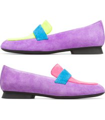 camper twins, zapatos planos mujer, violeta/rosa/amarillo, talla 41 (eu), k200991-001
