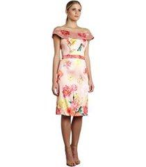 vestido curto izadora lima brand em zibeline feminino