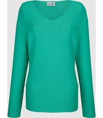 trui dress in groen