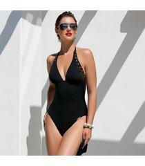 lise charmel badmode ajourage couture badpak zwart aba9815b