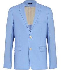 classic wool blazer, sagittarius blue
