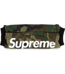 supreme logo hand warmer - green