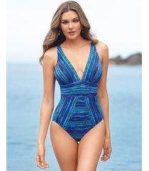 secret sanskrit odyssey firm control one-piece swimsuit