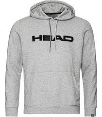head tennistrui men club byron grey melange black-xxxl