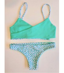 bikini  verde  stai zitta limonio
