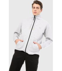 chaqueta blanco lacoste