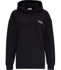 ganni software isoli sweatshirt in recycled cotton
