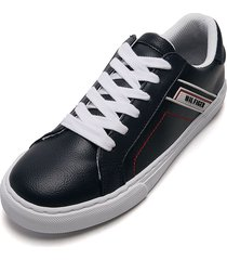 tenis lifestyle azul navy-blanco tommy hilfiger