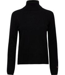 bernou sweater turtleneck polotröja svart busnel