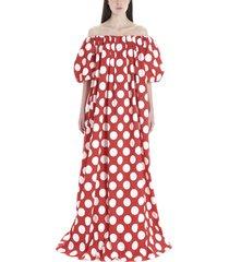 sara battaglia baloon over dress