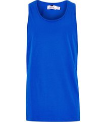 mens cobalt blue slim tank