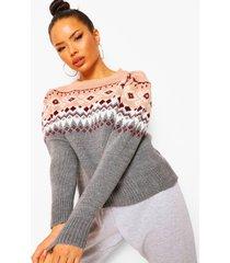 gebreide trui met pofmouwen