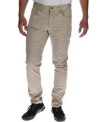 pantalon hombre slim 5 pocket trouser beige cat