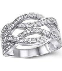 anillo entrelazos casual plata arany joyas