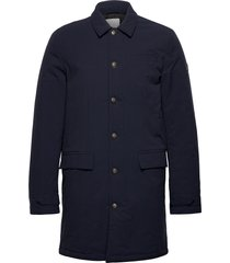 eric maccoat trench coat rock blå les deux