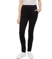 pantalón eclipse negro - calce ajustado