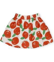 stella mccartney skirt with tangerines