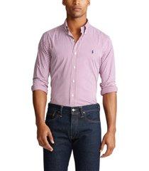 polo ralph lauren big & tall classic fit performance twill shirt