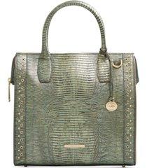 brahmin caroline leather satchel