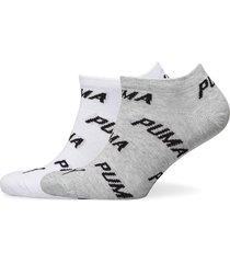 puma unisex bwt sneaker 2p ankelstrumpor korta strumpor grå puma
