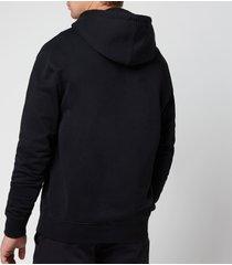 ami men's de coeur pullover hoodie - black - xxl