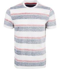 sun + stone men's multi-striped t-shirt, created for macy's
