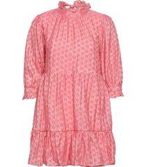 arya dress kort klänning rosa by malina