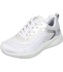 tenis blanco skechers bobs sport ariana metro racket 117010wht