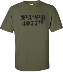 mash 4077th military army hospital tv show funny men's tee shirt 408
