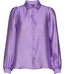 macy overhemd met lange mouwen paars stella nova