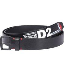 dsquared2 logo heritage belt