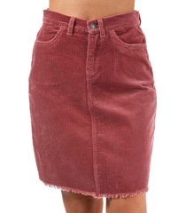 only morris cord skirt size 10 in brown