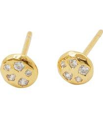 women's gorjana collette circle stud earrings