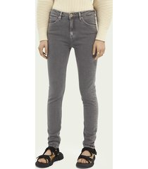 scotch & soda haut high-rise skinny jeans – back to my roots