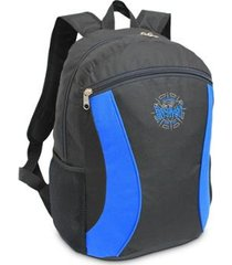 mochila ls bolsas com bolso frontal e 2 bolsos laterais bordado brazilian jiu-jitsu