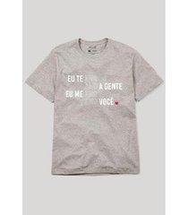 camiseta reserva amo amo amo masculina - masculino