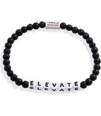 little words project elevate beaded stretch bracelet