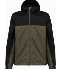 the north face giacca mountain in nylon verde