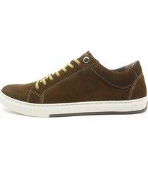 sapatenis sandalo vintage oliva - verde oliva - masculino - dafiti