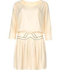 jurk met bronzen naden elliot  naturel