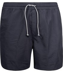 brunello cucinelli plain swim shorts