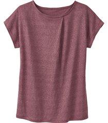 linnen-jersey shirt, wild berry 40