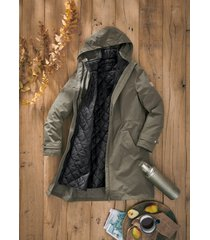 parka outdoor oversize 3 in 1 (verde) - bpc bonprix collection
